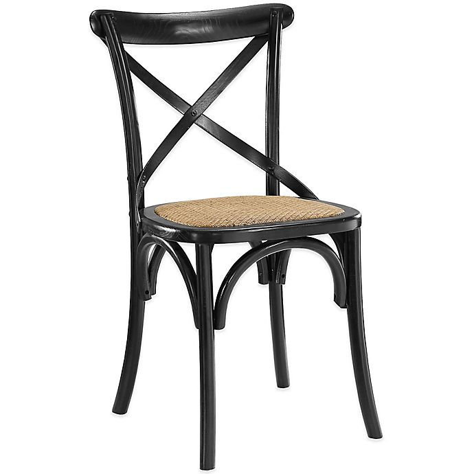 Alternate image 1 for Modway Gear Dining Side Chair in Black