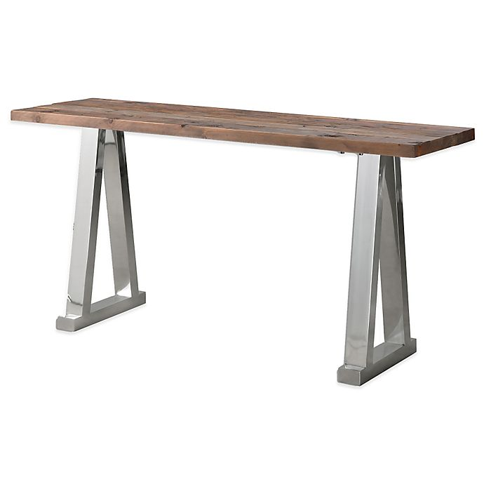 Alternate image 1 for Uttermost Hesperos Wooden Console Table