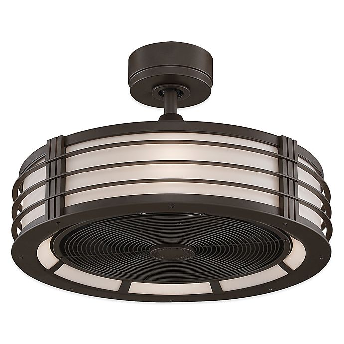 Alternate image 1 for Fanimation Beckwith™ 23-Inch Ceiling Fan in Bronze/Black