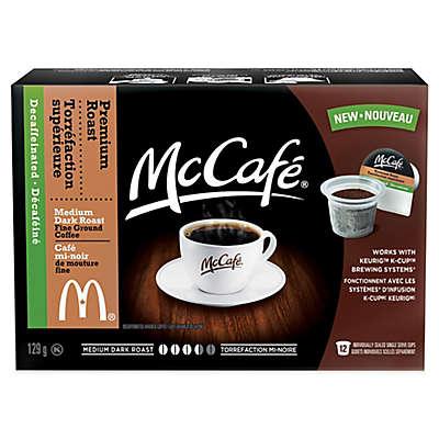 12-Count McCafé® Decaf Premium Roast Coffee for Single Serve Coffee Makers