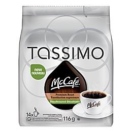 McCafé® 14-Count Decaf Premium Roast Coffee T-DISCs for Tassimo™ Beverage System