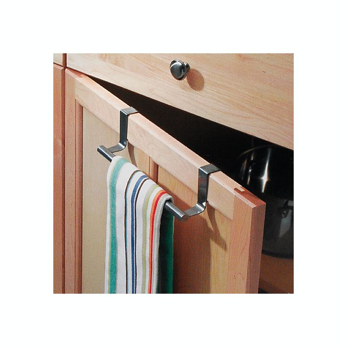 Alternate image 1 for iDesign® Forma® Over the Cabinet Towel Bar in Stainless Steel