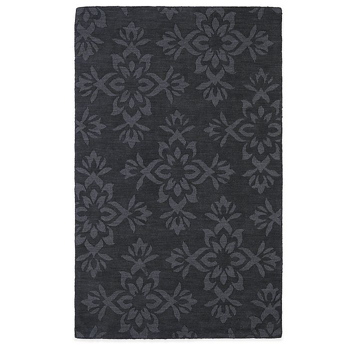 Alternate image 1 for Kaleen Imprints Classic 5-Foot x 8-Foot Area Rug in Charcoal