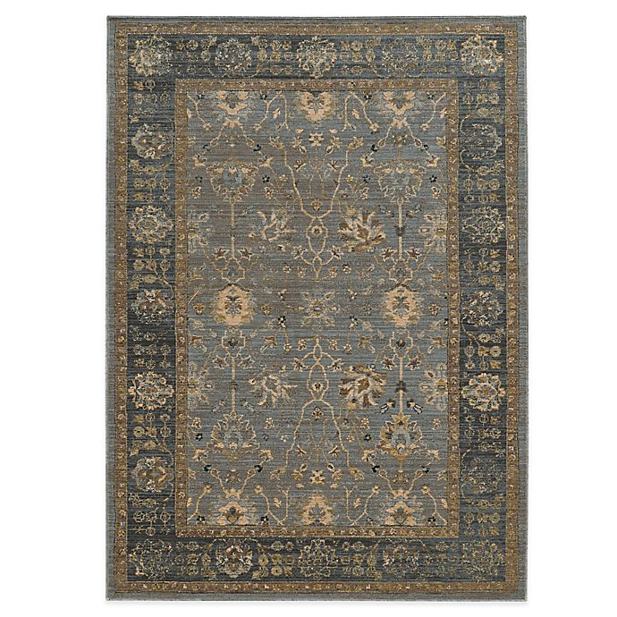 Alternate image 1 for Tommy Bahama® Vintage 7-Foot 10-Inch x 10-Foot 10-Inch Rug in Light Blue