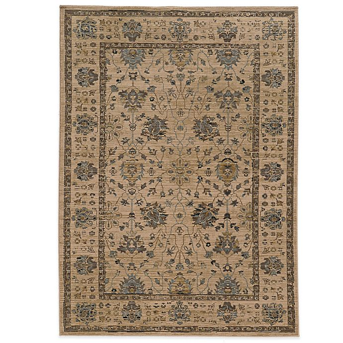 Alternate image 1 for Tommy Bahama® Vintage 9-Foot 10-Inch x 12-Foot 10-Inch Rug in Ivory