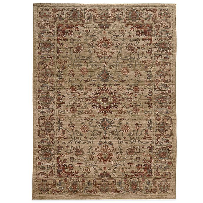 Alternate image 1 for Tommy Bahama® Vintage 6-Foot 7-Inch x 9-Foot 6-Inch Rug in Ivory