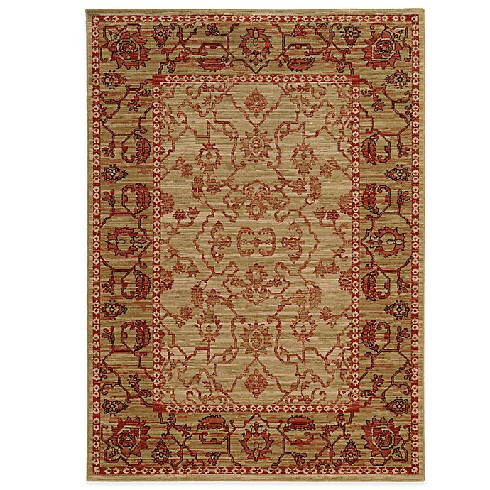 Alternate image 1 for Tommy Bahama® Vintage 9-Foot 10-Inch x 12-Foot 10-Inch Rug in Red