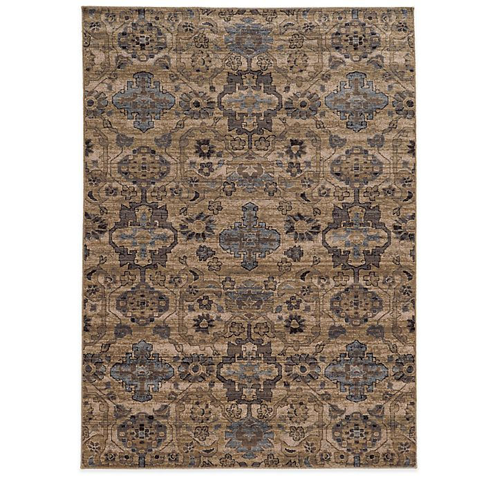 Alternate image 1 for Tommy Bahama® 6-Foot 7-Inch x 9-Foot 6-Inch Vintage Rug in Ivory