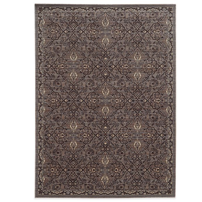 Alternate image 1 for Tommy Bahama® Vintage 9-Foot 10-Inch x 12-Foot 10-Inch Rug in Brown