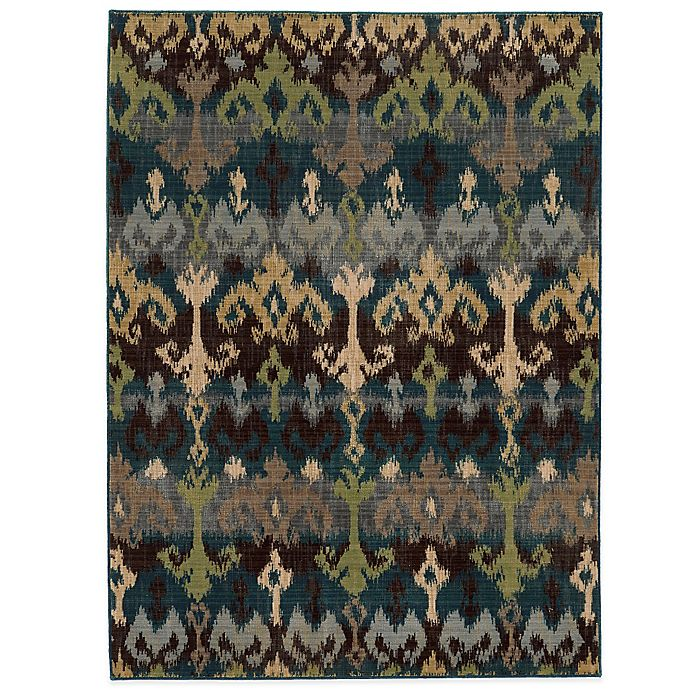 Alternate image 1 for Tommy Bahama® Vintage 6-Foot 7-Inch x 9-Foot 6-Inch Rug in Blue