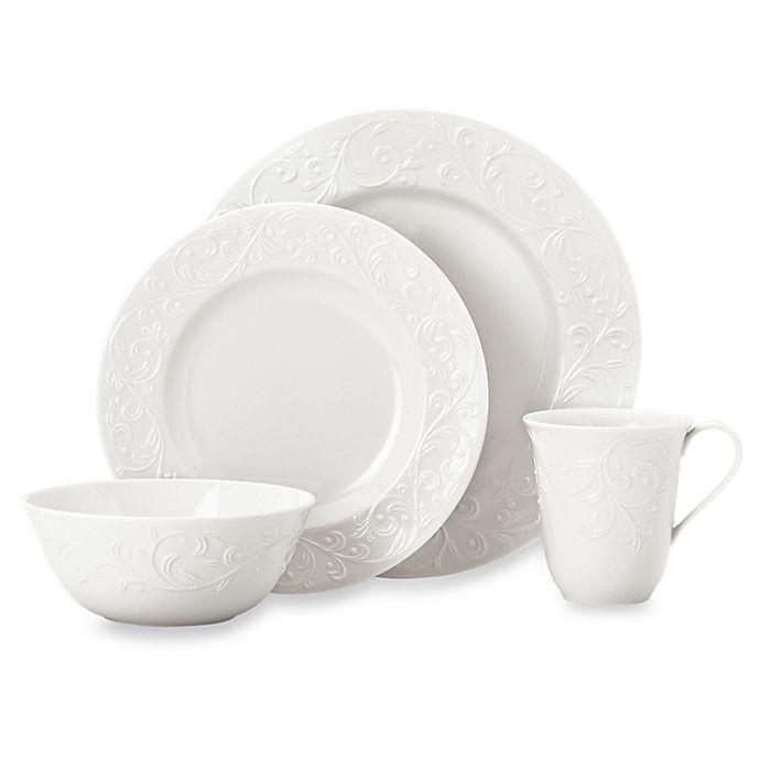 Alternate image 1 for Lenox® Opal Innocence™ Carved Porcelain Dinnerware Collection