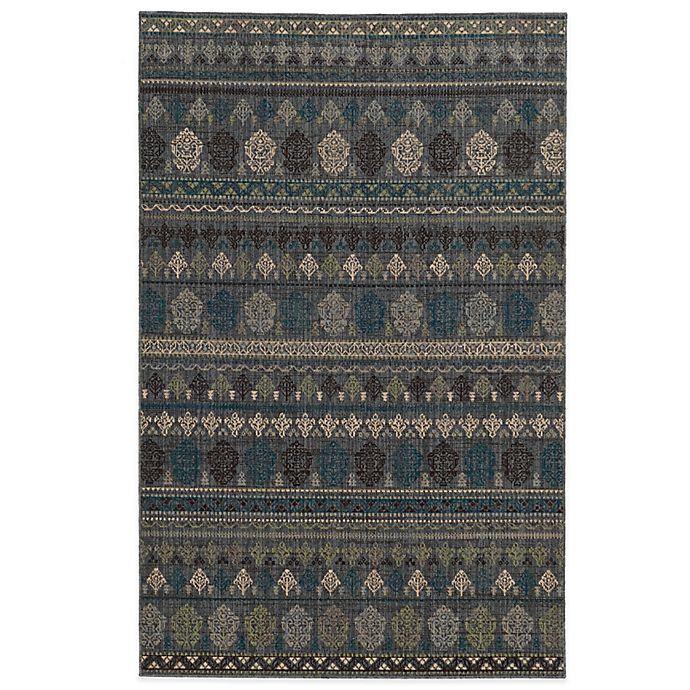 Alternate image 1 for Tommy Bahama® Vintage 9-Foot 10-Inch x 12-Foot 10-Inch Rug in Blue
