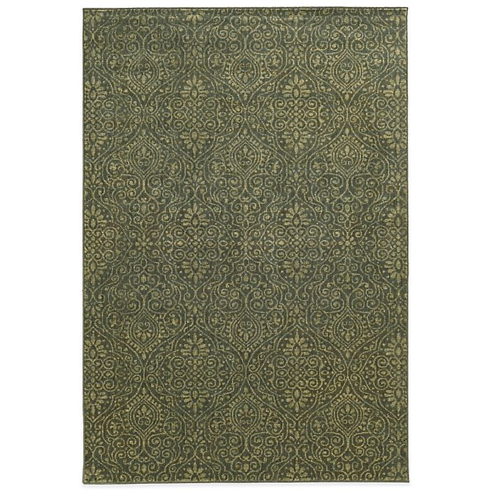 Alternate image 1 for Tommy Bahama® Voyage 9-Foot 10-Inch x 12-Foot 10-Inch Rug in Green