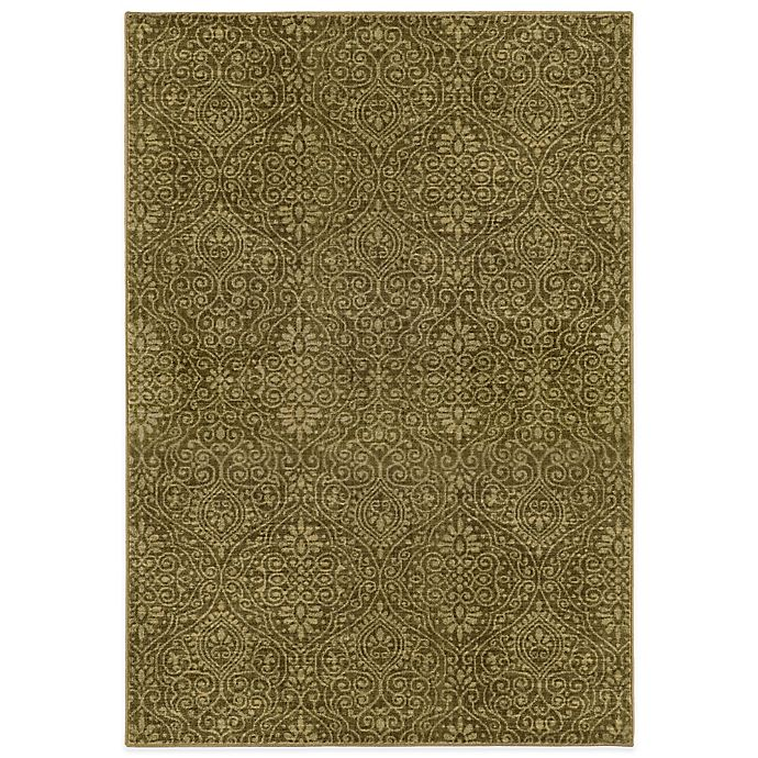 Alternate image 1 for Tommy Bahama® Voyage 9-Foot 10-Inch x 12-Foot 10-Inch Rug in Gold