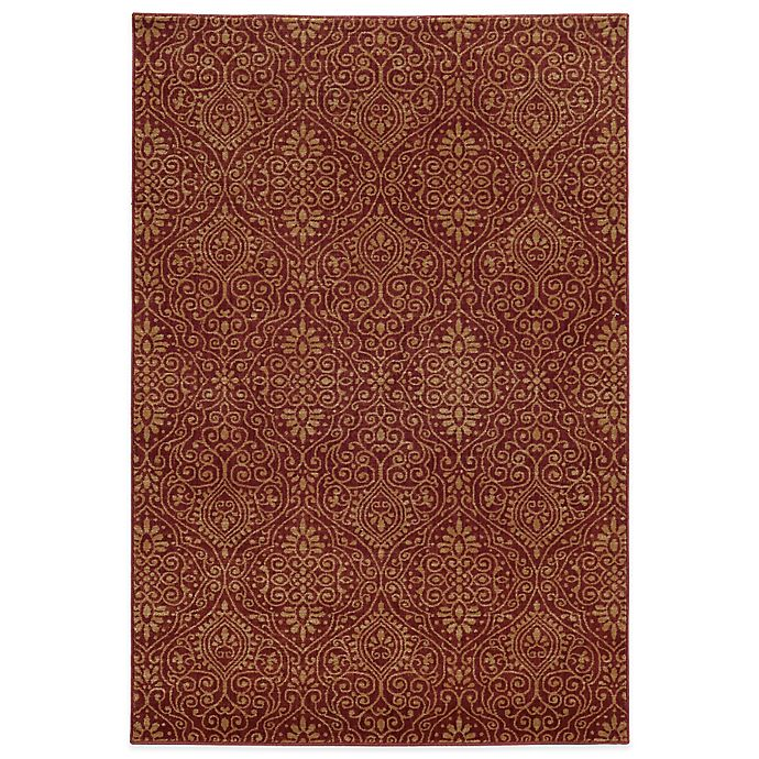 Alternate image 1 for Tommy Bahama® Voyage 5-Foot 3-Inch x 7-Foot 6-Inch Rug in Red