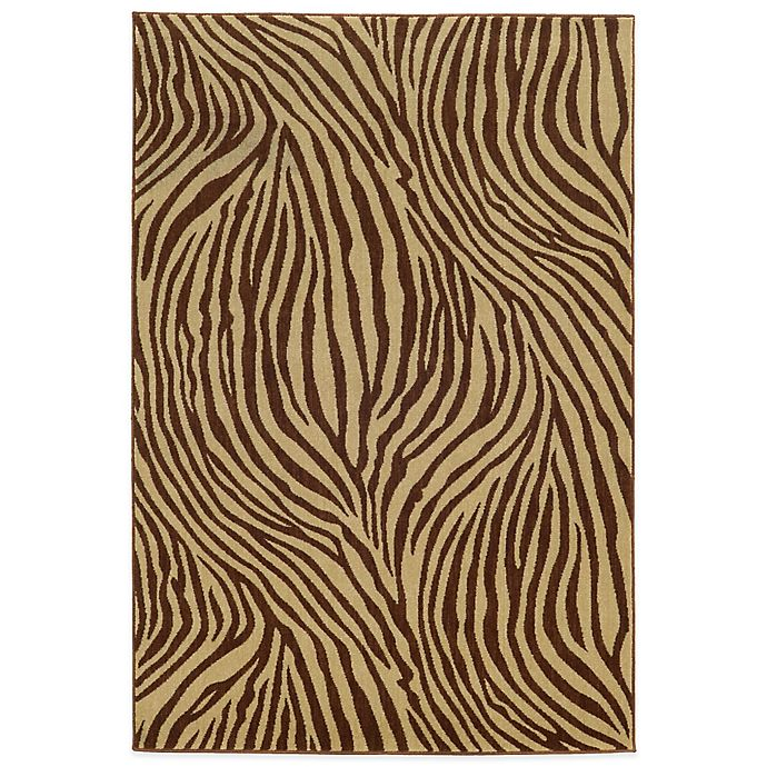 Alternate image 1 for Tommy Bahama® Voyage 5-Foot 3-Inch x 7-Foot 6-Inch Rug in Brown