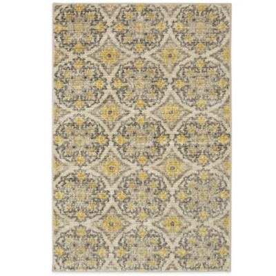 Mohawk Home Silk Elegance Rug In Beige Bed Bath And