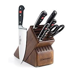 Wusthof® Classic 8-Piece Deluxe Walnut Knife Block Set