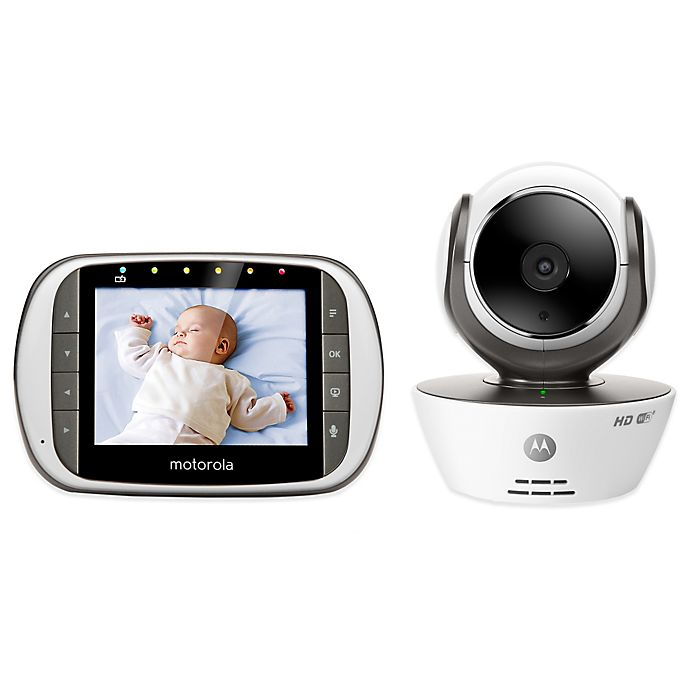 Alternate image 1 for Motorola® MBP853CONNECT Digital Video Baby Monitor with Wi-Fi Internet Viewing