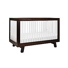 Babyletto Hudson 3-in-1 Convertible Crib in Espresso/White
