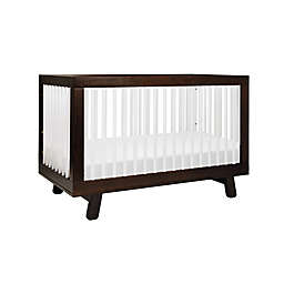 Babyletto Hudson 3-in-1 Convertible Crib in Espresso/White