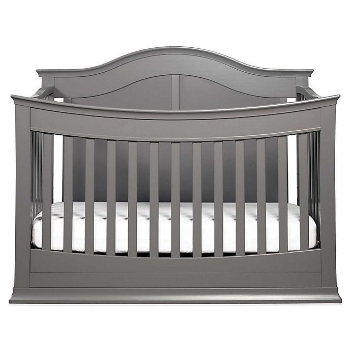 Alternate image 1 for DaVinci Meadow 4-in-1 Convertible Crib in Slate
