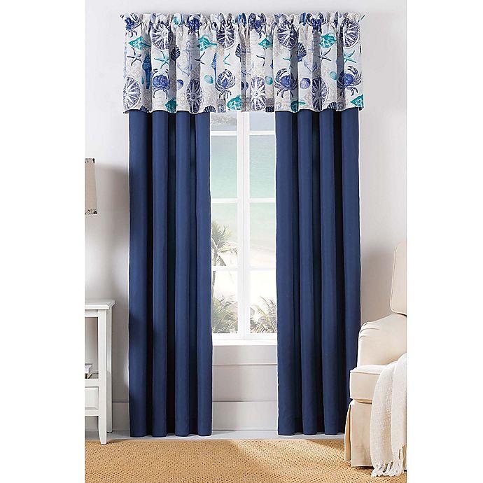 Alternate image 1 for Williams Barnegat 84-Inch Window Panel Pair in Blue