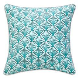 Williamsburg Barnegat Sea Shell Square Throw Pillow