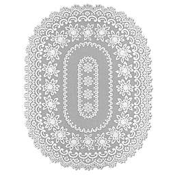Heritage Lace® Rose 52-Inch x 72-Inch Tablecloth in Off-White