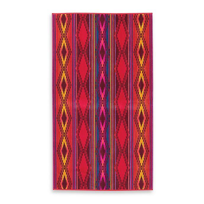 Alternate image 1 for Pendleton® River Oversized Jacquard Beach Towel in Red