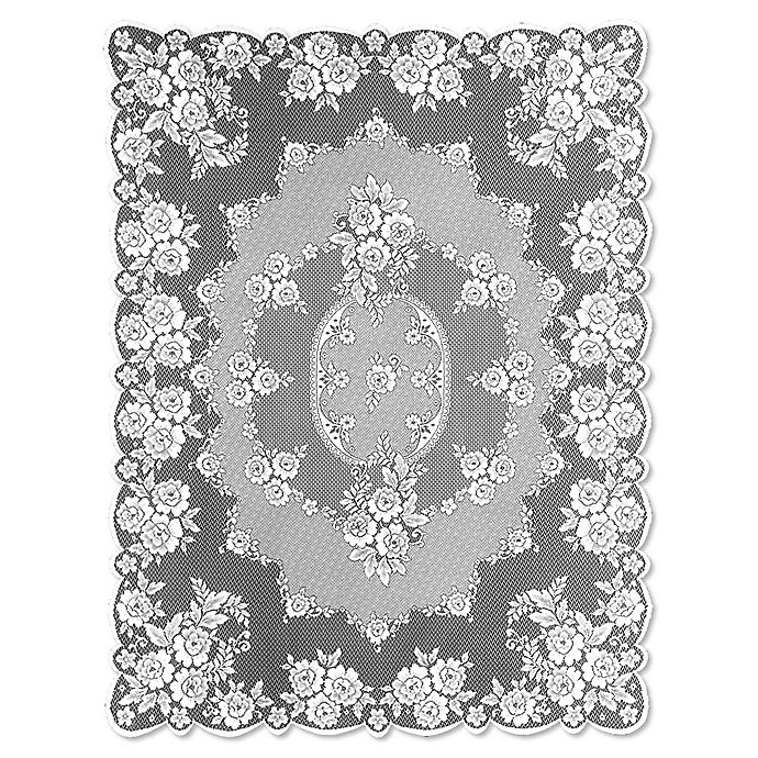 Alternate image 1 for Heritage Lace® Victorian Rose Tablecloth