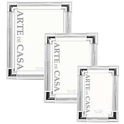 Arte de Casa Palermo Picture Frame in Silver