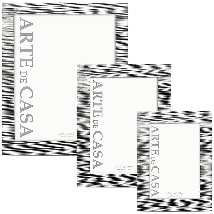 Alternate image 1 for Arte de Casa Aversa Picture Frame in Silver
