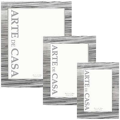 Arte de Casa Aversa Picture Frame in Silver