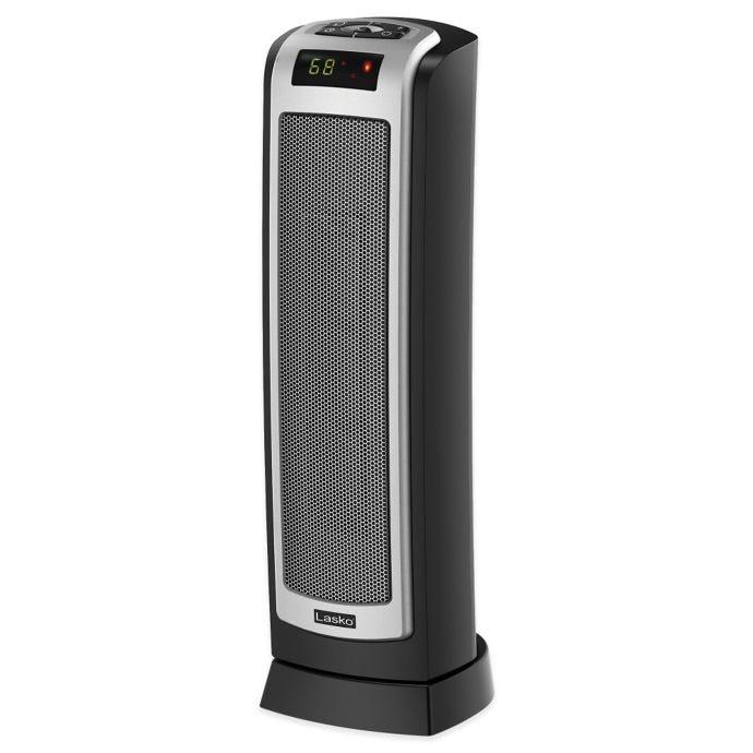 Lasko Ceramic Tower Heater With Remote Control And Oscillation Bed Bath Beyond
