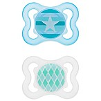 MAM Mini Air Age 0-6 Months Pacifier in Blue (2-Pack)