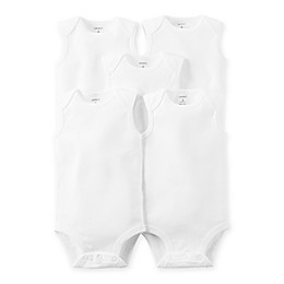 carter's® 5-Pack Sleeveless Bodysuits
