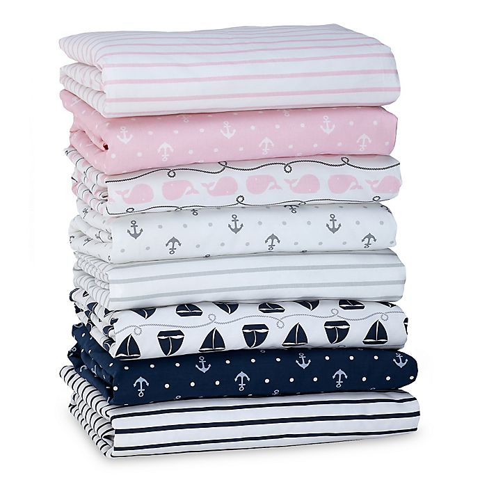 Alternate image 1 for Nautica Kids® Mix & Match Nautical Fitted Crib Sheet Collection