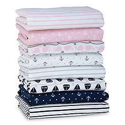 Nautica Kids® Mix & Match Nautical Fitted Crib Sheet Collection