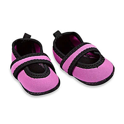 nufoot Baby Betsy Lou Mary Jane Slipper in Pink