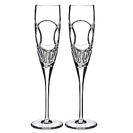 Waterford Love Wedding Vows Toasting Flutes (Set of 2)