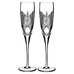 Waterford Love Happiness Toasting Flutes (Set of 2)