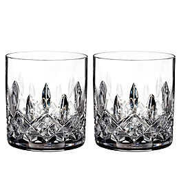 Waterford® Lismore Straight Sided Tumblers (Set of 2)