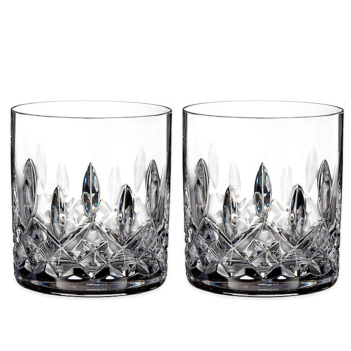 Alternate image 1 for Waterford® Lismore Straight Sided Tumblers (Set of 2)