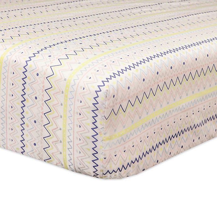 Alternate image 1 for Babyletto Desert Dreams Fitted Crib Sheet