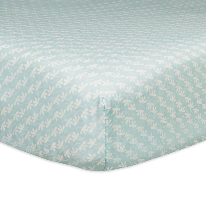 Alternate image 1 for Babyletto Fleeting Flora Fitted Crib Sheet