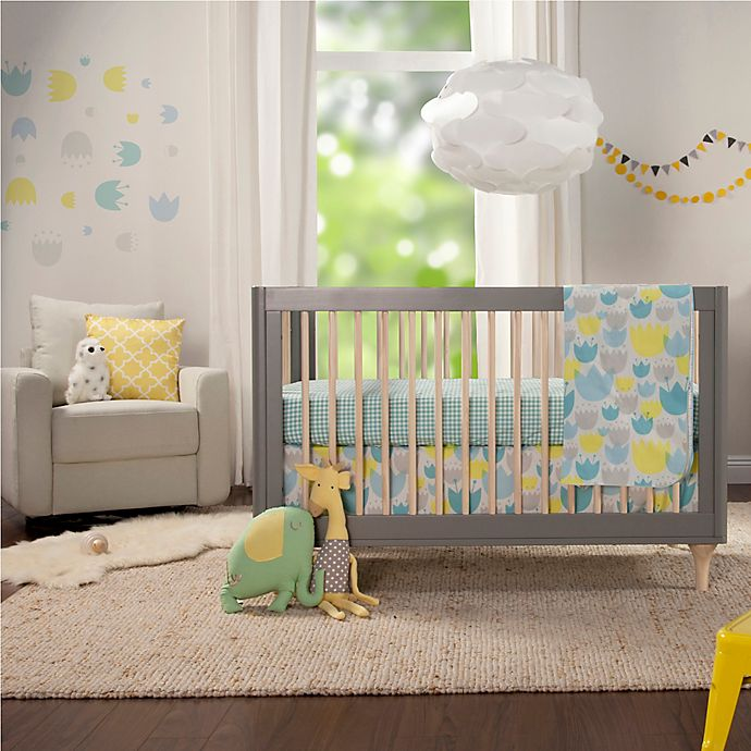 Alternate image 1 for Babyletto Tulip Garden Crib Bedding Collection