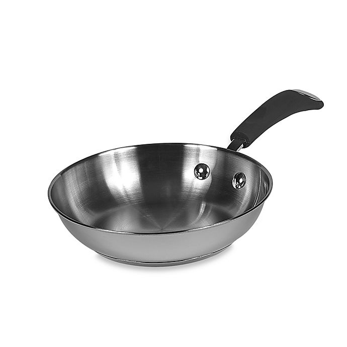 Bialetti 174 Presence Professional Stainless Steel Fry Pan