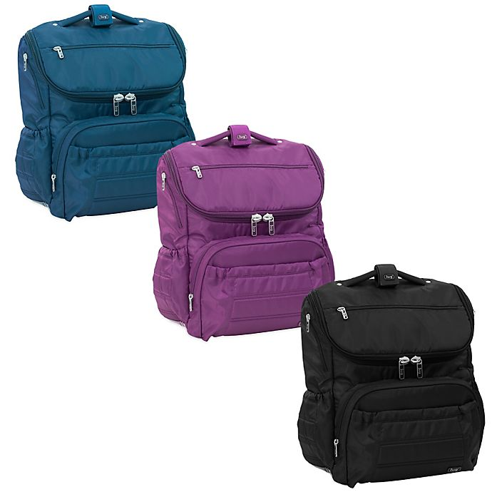 Lug Pitter Patter Carry All Diaper Bag Backpack