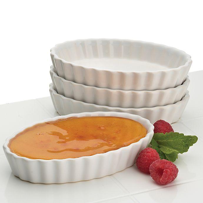 Alternate image 1 for BonJour® Chef's Crème Brulee Dish (Set of 4)